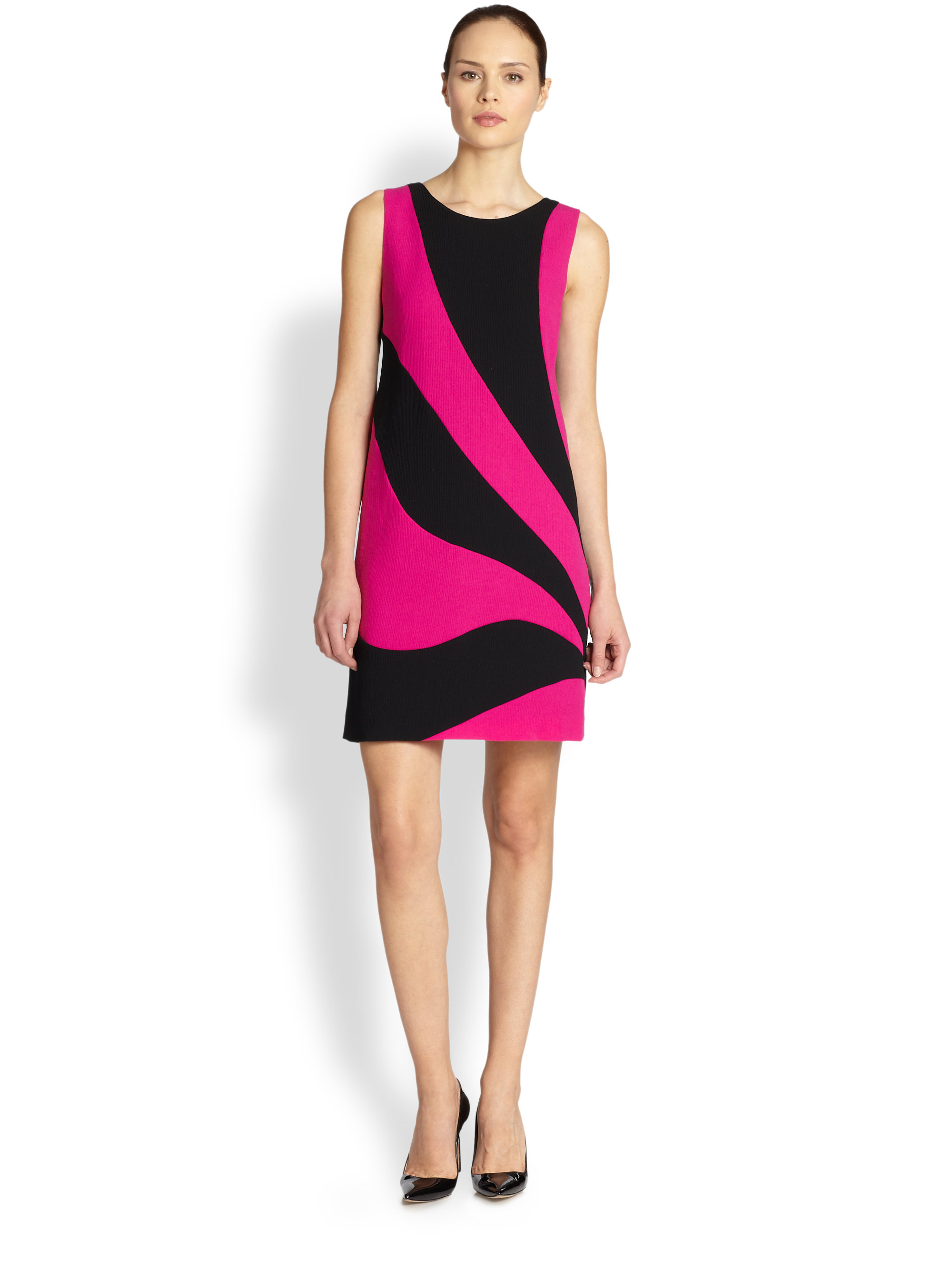 Colorblock Shift Dress