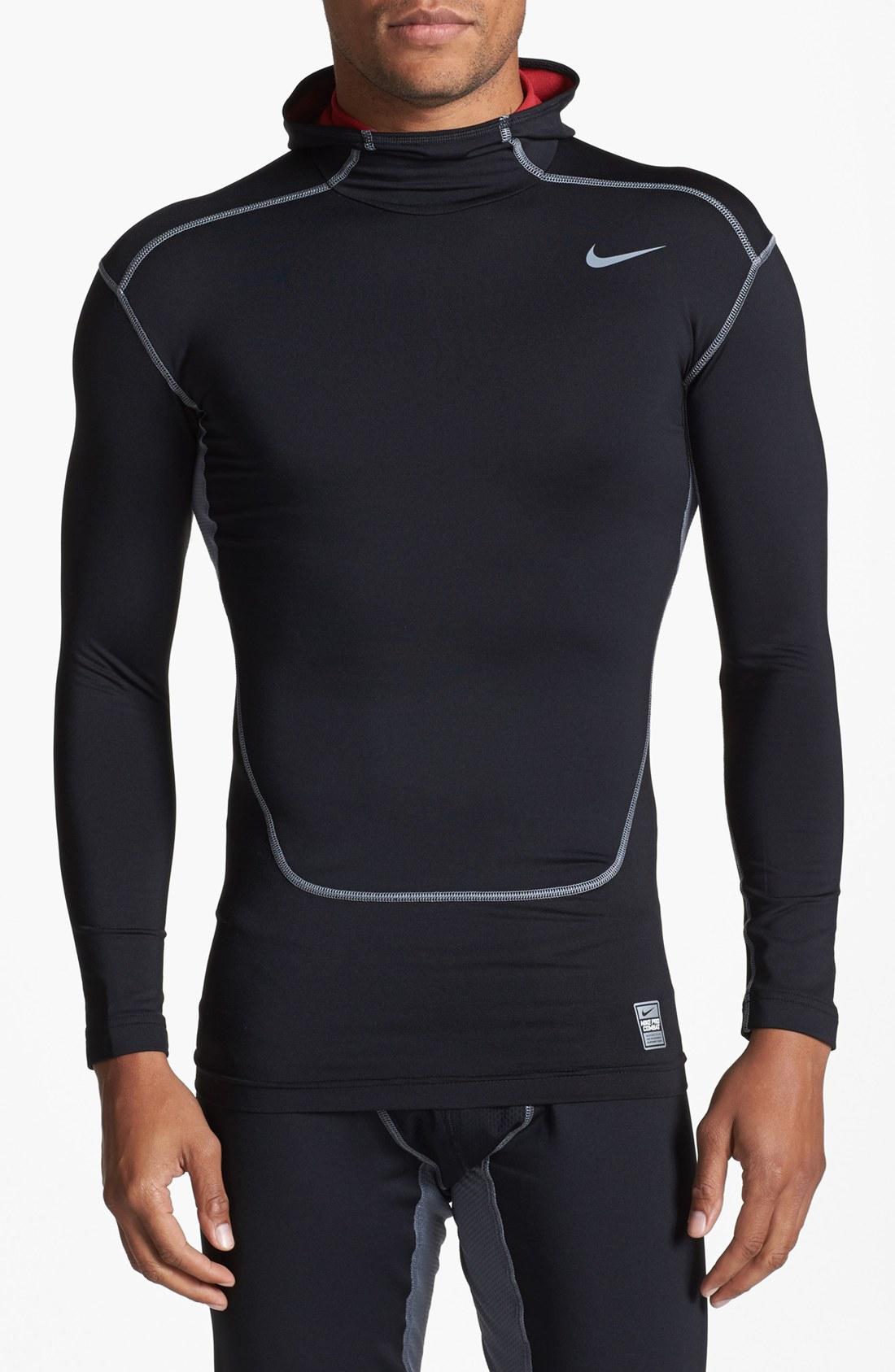nike pro combat hyperwarm hoodie
