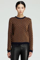 Opening Ceremony Stardust Metallic Crewneck Sweater - Lyst