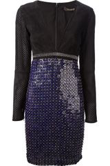 Roberto Cavalli Coloured Disc Dress - Lyst