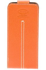 Tod's Embossed Phone Case - Lyst