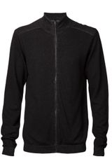 Transit Uomo Zip Sweater - Lyst