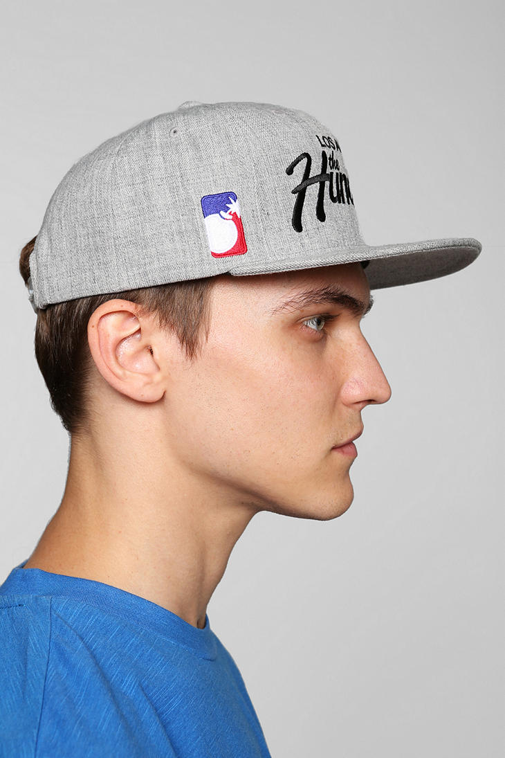 886539ada94 Urban Outfitters The Hundreds Forever Team Snapback Hat in Gray for ...