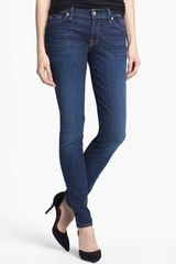 7 For All Mankind The Skinny Stretch Jeans - Lyst