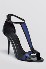 Burberry T-strap Sandals Willby High Heel - Lyst