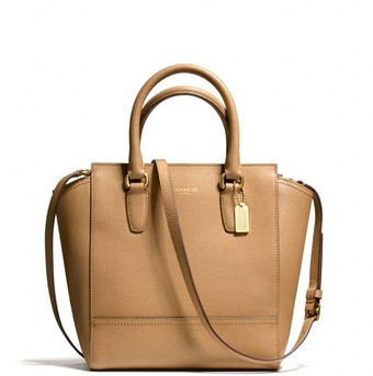 Coach Mini Tanner in Saffiano Leather - Lyst