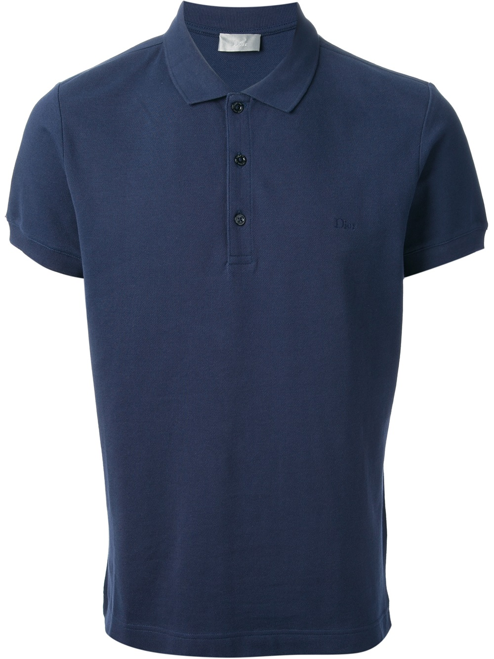 Dior Homme Branded Polo Shirt In Blue For Men Lyst