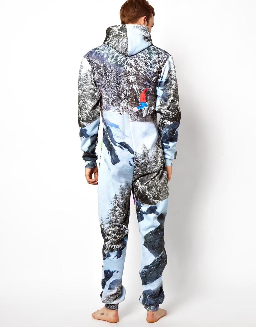 Fashion week Mens stylish onesie for woman