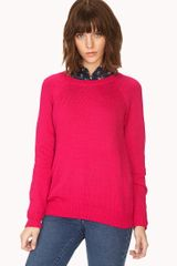 Forever 21 No Fuss Sweater - Lyst