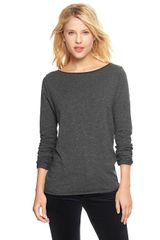 Gap Lurex Metallic Boatneck T - Lyst