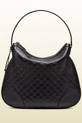 Gucci Bree Ssima Leather Hobo - Lyst