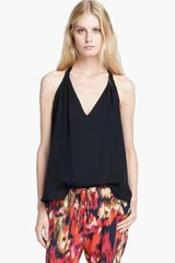 Haute Hippie Silk Halter Top - Lyst