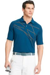 Izod Golf Shirt Printed Raglansleeve Performance Polo - Lyst
