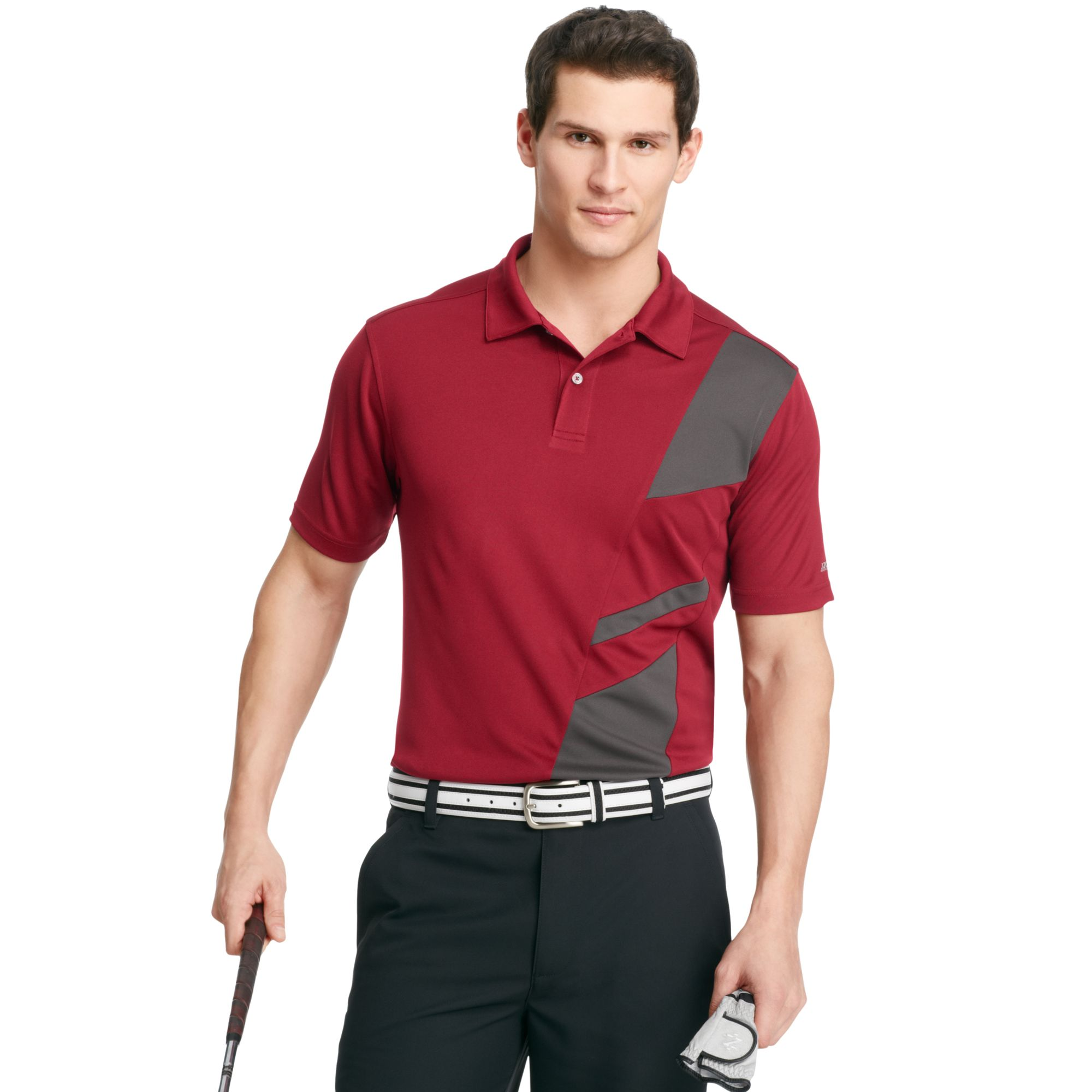 Izod Golf Shirt Shortsleeve Micro Pique Performance Polo ...