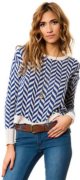 Jack Bb Dakota The Dolores Zig Zag Sweater - Lyst