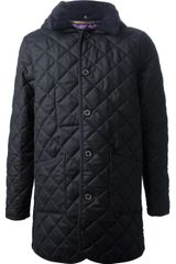 Mackintosh Long Quilted Coat - Lyst