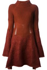 McQ by Alexander McQueen Sweater Dress - Lyst