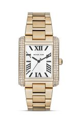 Michael Kors Mid Size Emery Three Hand Glitz Watch 31mm - Lyst