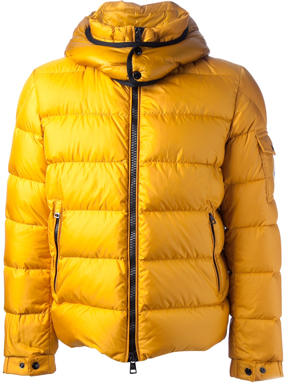 moncler hoodie yellow