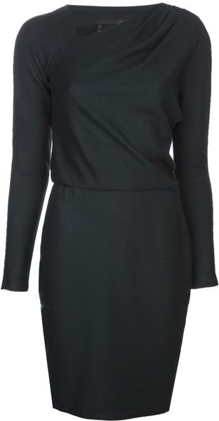 Obakki Long Sleeve Dress - Lyst