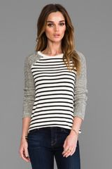 Pjk Patterson J. Kincaid Softball Long Sleeve Tee in Ivory - Lyst