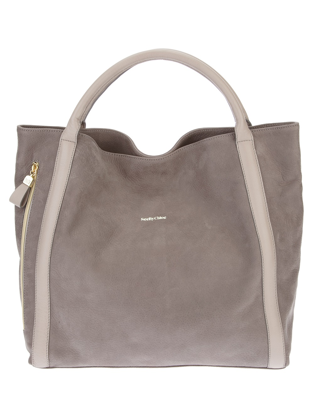 See by chlo¨¦ Tote Bag in Gray (grey)   Lyst