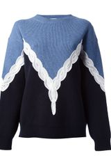 Stella McCartney Two Tone Jumper - Lyst