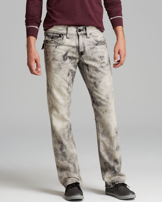 3647ea4c8c3 Lyst - True Religion Ricky Straight Leg Jeans in Dark Antelope in ...