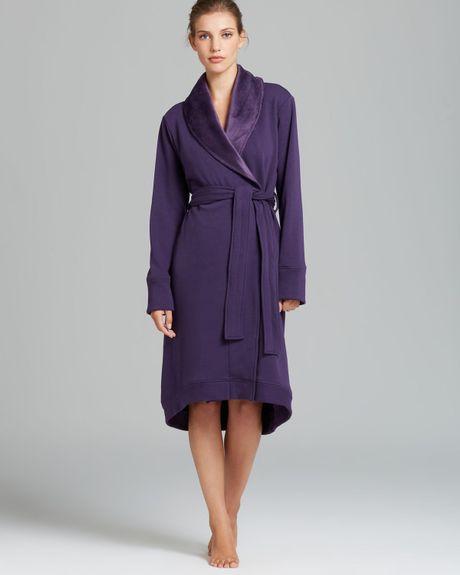 Robe Australia: Ugg Duffield Robe In Purple