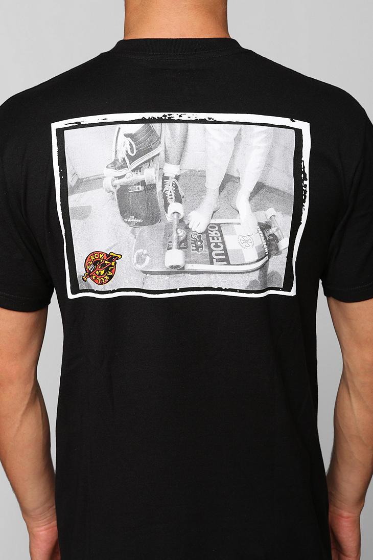 f058abd993 Lyst - Vans Vans Black Label Skateboards Photo Tee in Black for Men