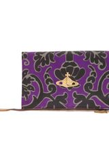 Vivienne Westwood Anglomania Let It Rock Printed Clutch - Lyst