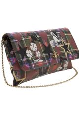 Vivienne Westwood Tartan Sea Monster Bag - Lyst