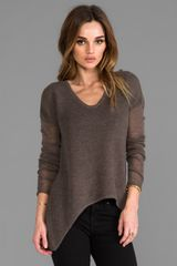 American Vintage Lakeway Pullover in Brown - Lyst