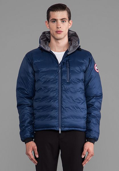 Canada Goose Lodge Hoody In Blue For Men Spirit Lyst