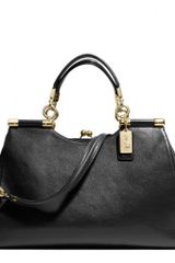 Coach Madison Carrie Satchel in Leather