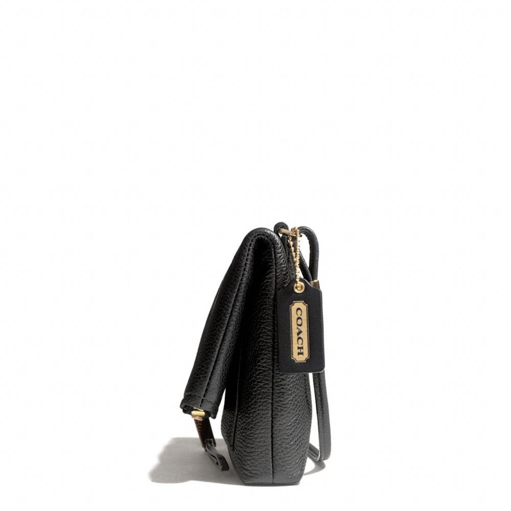 832f4efd46 Lyst - COACH The Urbane Crossbody Bag in Pebbled Leather in Black