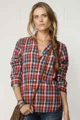 Denim & Supply Toby Plaid Utility Shirt - Lyst