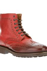 Doucal's Scotch Boot - Lyst