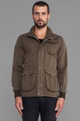 G-star Raw Amundsen Premium Overshirt in Olive - Lyst