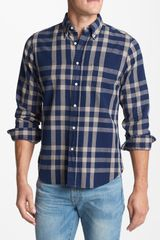 Gant Rugger Indigo Check Oxford Shirt - Lyst