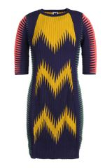 M Missoni Short Dress - Lyst
