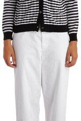 Marni Striped Cardigan - Lyst