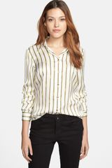 Michael by Michael Kors Print Fitted Shirt - Lyst