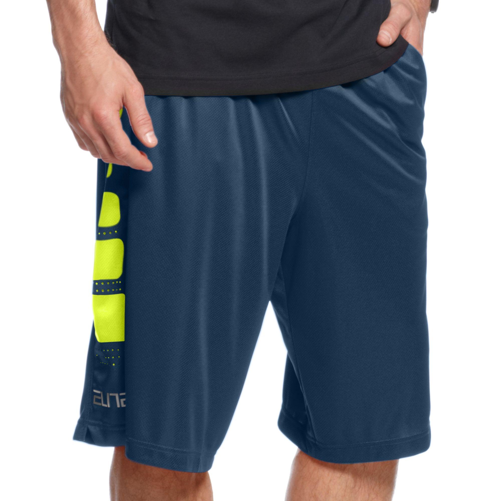 fcd5efcc8149 Lyst - Nike Elite Stripe Basketball Shorts in Blue for Men