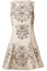 RED Valentino Faille Dress - Lyst