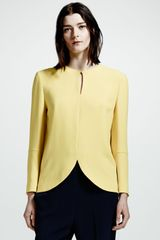 Stella McCartney Tuliphem Top Citron - Lyst