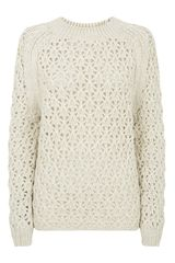 Theyskens' Theory Kisha Chunky Knit Jumper - Lyst