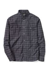 A.P.C. x Carhartt Long Sleeve Shirt - Lyst