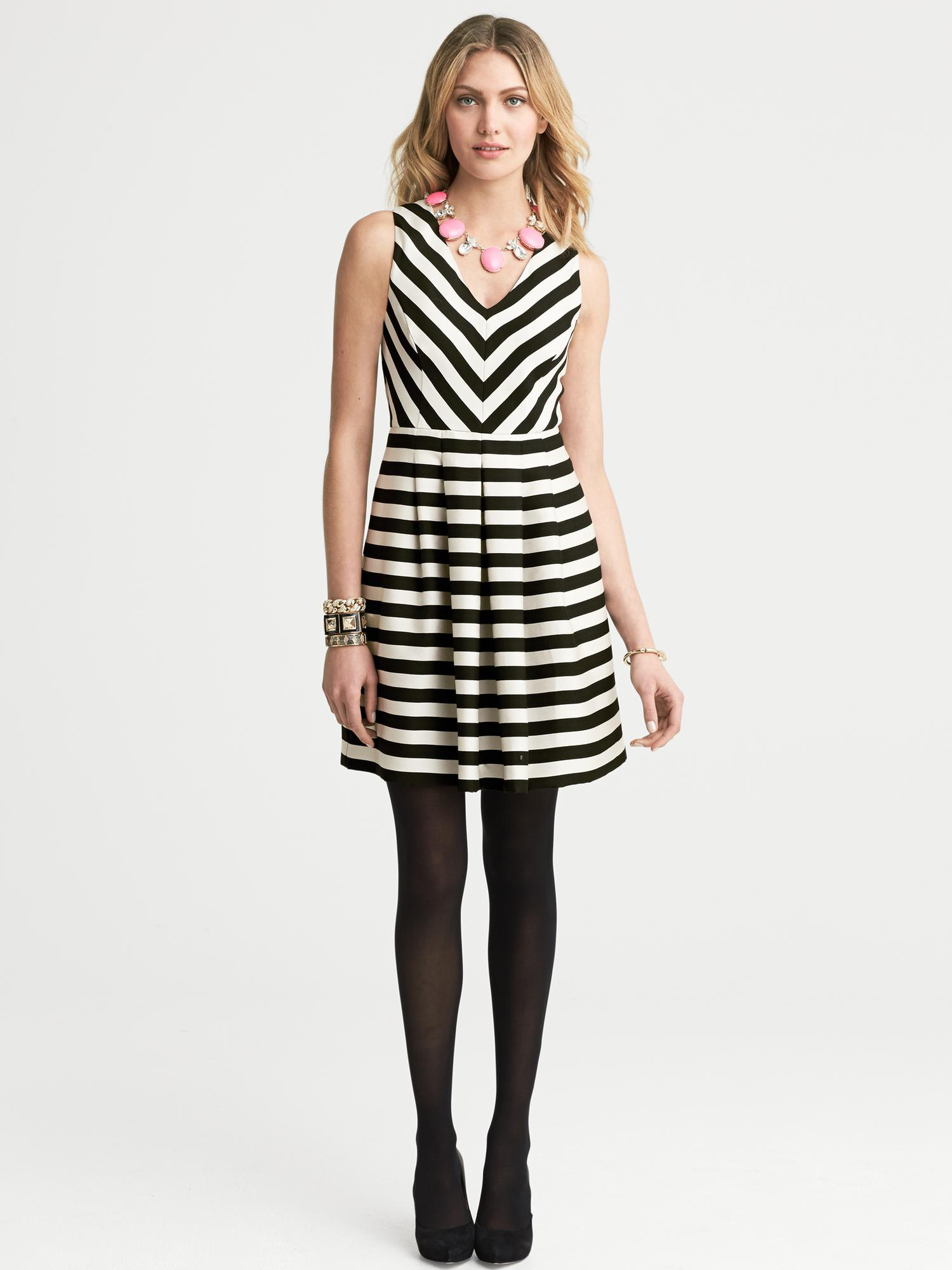 Black And White Striped Dresses | Www.imgkid.com - The Image Kid Has It!