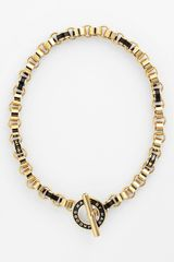 Marc By Marc Jacobs Toggles Turnlocks Collar Necklace - Lyst